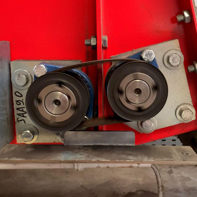 Industrie Mechanik Service Patrick Schlegel | Probelauf nach Reparatur