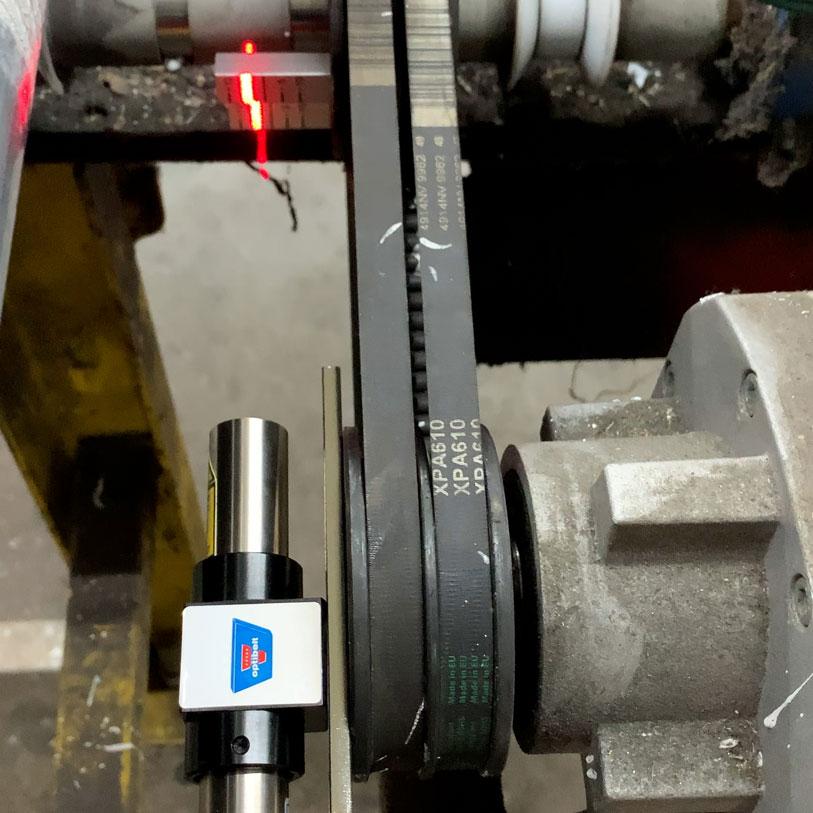 Industrie Mechanik Service Patrick Schlegel | Riemenspannung Messen