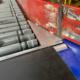 Industrie Mechanik Service Patrick Schlegel | Rot alter Förderer – blau neue Maschine die breiter ist – Haben da kleinen Lückenfüller gesetzt